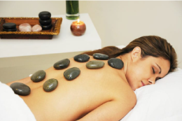 Spa Hot Stones Therapy